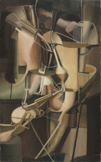 Bride, 1912. Marcel Duchamp.